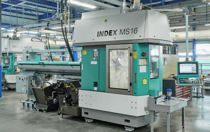 DJC la nouvelle Index MS 16 CNC Multi-Spindle